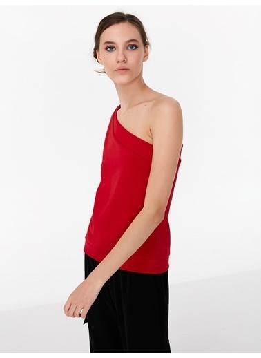 Twist Sweatshirt Kırmızı